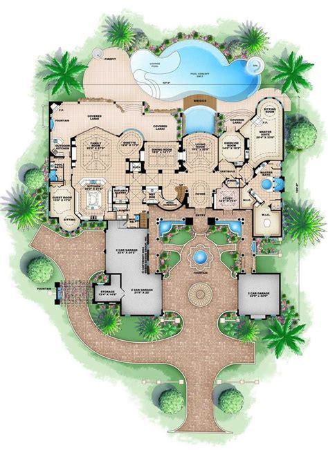 ultra custom home design ta ultra luxurious mediterranean house plan 28313hj 1st floor
