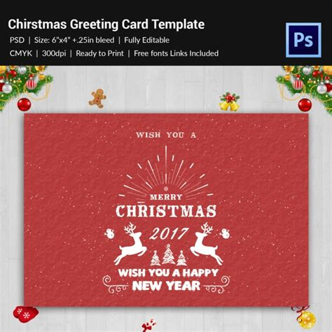 free new year greeting card template 126 greeting card templates free psd eps ai