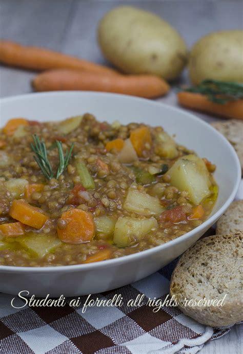 zuppa di sedano e patate zuppa di lenticchie con patate e carote ricetta