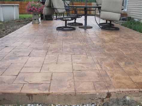 sted concrete patio designs licensed insured and