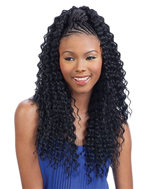 curly braiding hair extensions aruba curl braid 20 quot by freetress synthetic bulk braiding