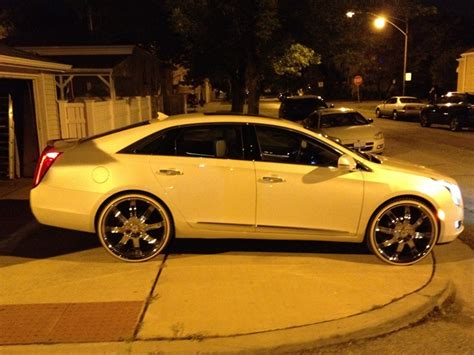Cadillac Xts On 24s by Imhurtn S 2013 Cadillac Xts In Chicago Il