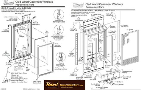 awning window repair parts hurd window and door parts awning window repair parts