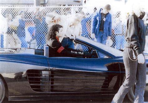 Michael Lamborghini Testarossa Driven By Michael Jackson Heads To