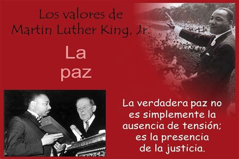 imagenes de reflexion de luther king frases de vida la verdadera paz martin luther king jr