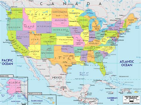 map of the usa map images