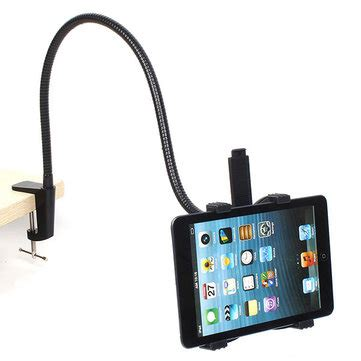 bed standaard ipad 360 angle rotating desk bed stand mount holder for iphone
