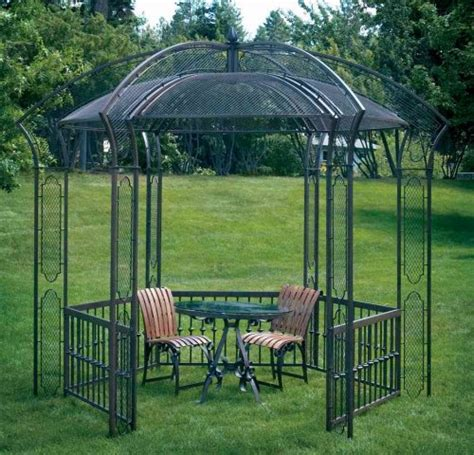 metal gazebo kit wrought iron gazebos oasis gazebo parisian gazebo