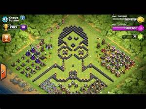 Clash of clans 52 funny base video sexy base megaman