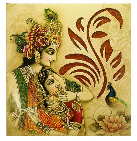 wedding card hindu hindu wedding card with radha krishna images