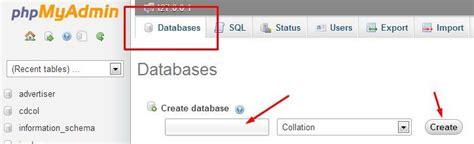 cara membuat database di notepad bloggku cara membuat database dengan xampp