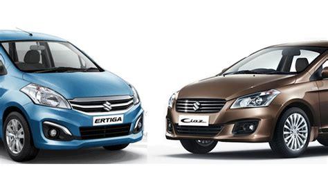 Maruti Suzuki Rates Maruti Suzuki Ciaz Ertiga Benefit From Vat Reduction In