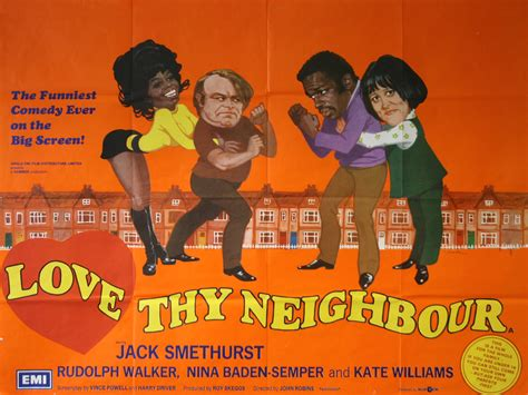 film love thy neighbour love thy neighbour vintage movie posters