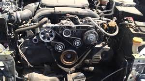 2010 Subaru Legacy Timing Belt Replacement 2010 2012 Subaru Legacy Outback Serpentine Belt Location