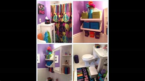girl bathroom decorating ideas cute girls bathroom decorating ideas youtube