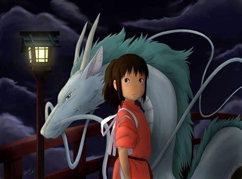 film anime terbaik spirited away spirited away dragon chihiro and the water spirit haku