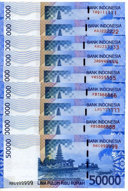 Nomor Cantik 081 555555 41 sep2sip nomor cantik di uang kertas