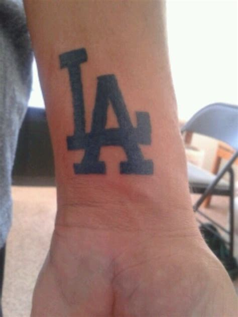 dodger tattoos my hubby s la dodger la dodgers tattoos