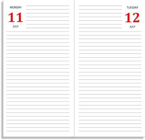 daily journal template onenote daily planner template pages agenda template