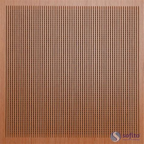 wood pannel perforated acoustical wood panels