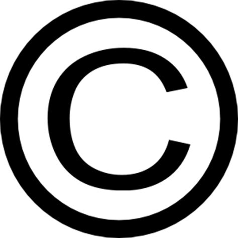 free clipart no copyright thin copyright symbol clip at clker vector clip