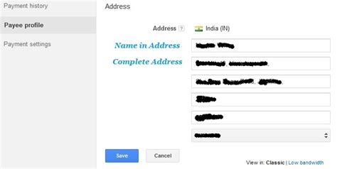 adsense change address how to change your payee name in google adsense account