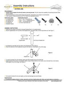 Ethan Allen Bed Wesley Allen Bed Assembly Instructions Images Frompo