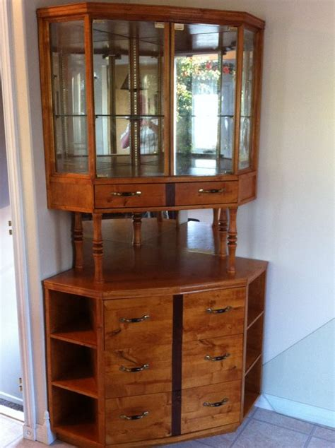Build China Cabinet by Corner China Cabinet Built With Birch Plywood And Locally