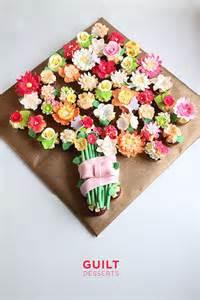 Flower Cupcakes Bouquet - flower cupcakes bouquet cake by guilt desserts cakesdecor