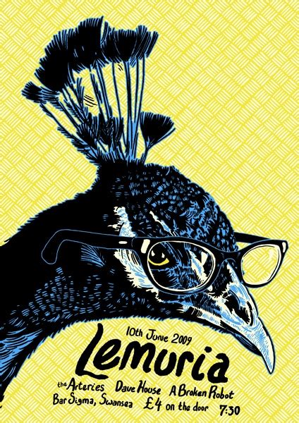 lemuria get better 108 best gig posters images on gig poster