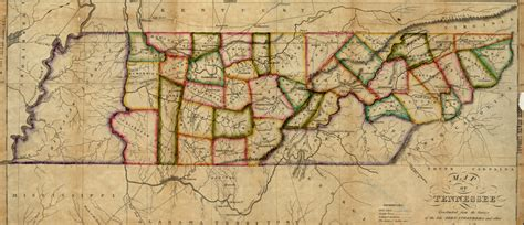 State Of Tn Records Maps At The Tennessee State Library And Archives Tennessee Of State