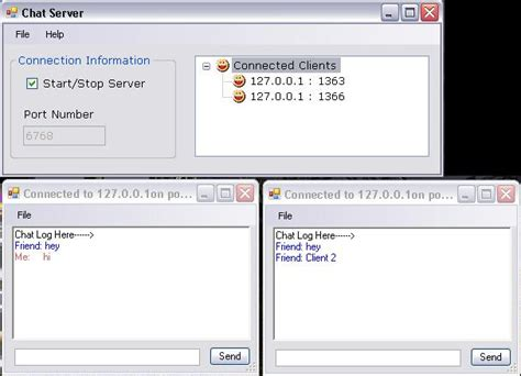 biual chat rooms freevbcode code snippet create a chat room using the winsock