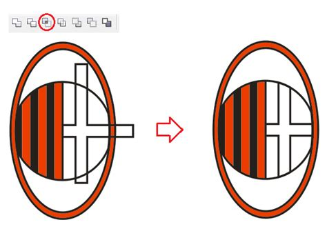 membuat logo ac milan di coreldraw langkah langkah membuat logo ac milan dengan coreldraw x4