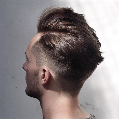 midway part hair updos side part hairstyles for men