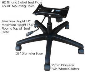 office chair base replacement parts