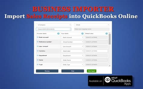 quickbooks 2016 how to edit sales receipt template how to import sales receipts into quickbooks with