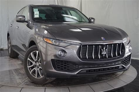 Maserati Suv For Sale by 2018 Maserati Levante Awd Luxury Suv For Sale At Mike Ward