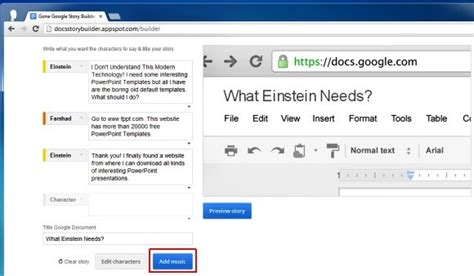 Google Docs Story Builder Create Stories Online With Docs Story Builder