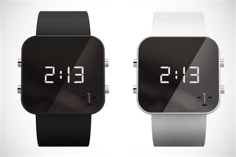 7 attractively minimal digital watches hey gents