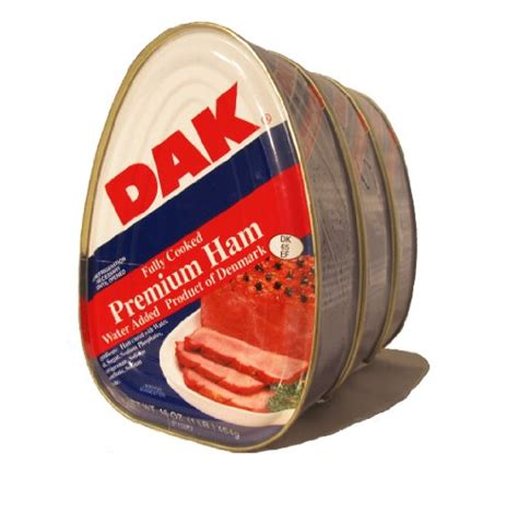 Dak Canned Ham Shelf by Dak Premium Ham 16oz Can Pack Of 3 Food Beverages Tobacco Food Items Seafood Eggs