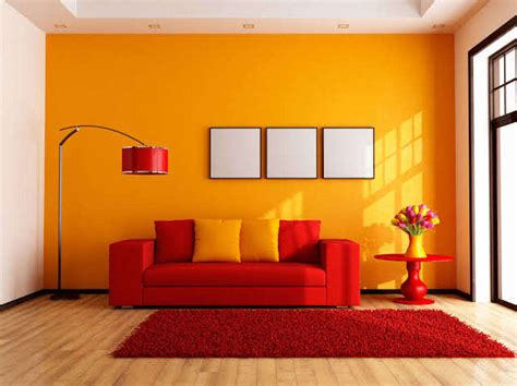 warna cat ruang tamu  berikan kesan berbeda