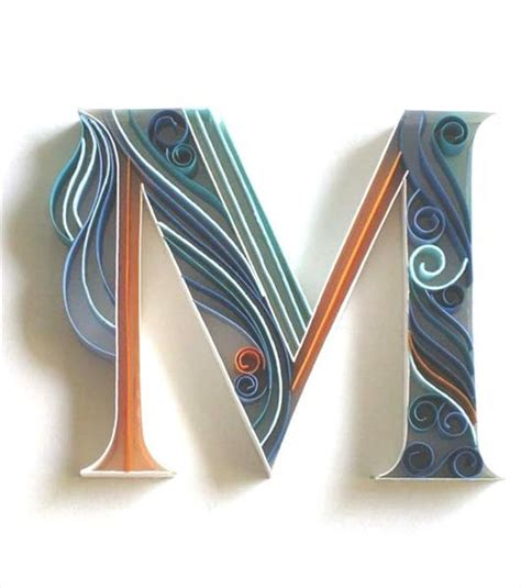 How To Make Paper Quilling Letters - pin alphabet quilling and paper on