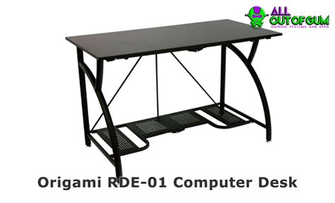 origami rde 01 computer desk sit or stand our massive gaming desk review for 2017