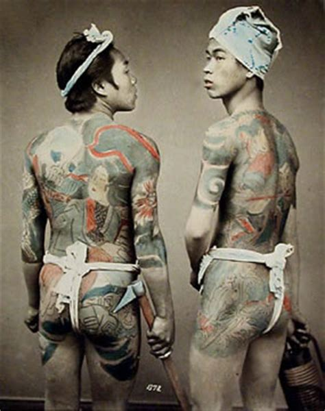 japanese full body tattoo history tattoo history japanese tattoo images history of