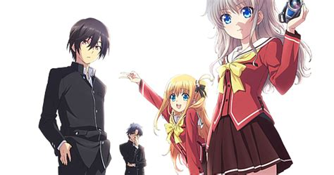 wallpaper anime png anime review recommendation charlotte anime review