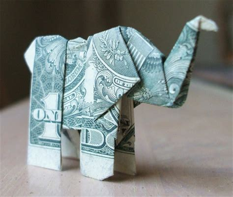 Origami Out Of A Dollar Bill - amazing collection of origami made out of dollar bills
