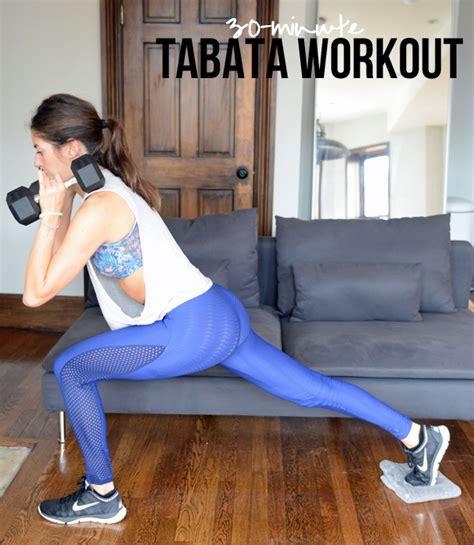 30 minute tabata workout pumps iron bloglovin