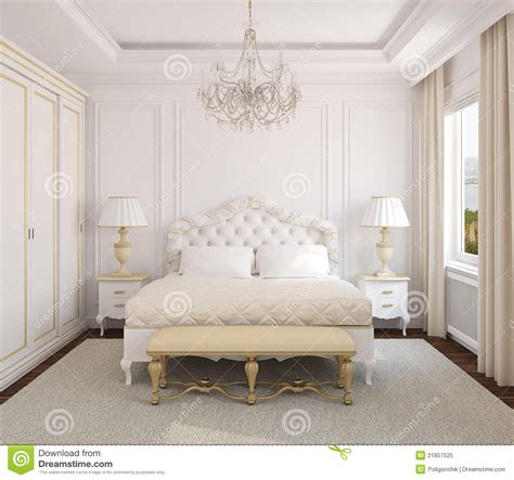 classic bedrooms classic bedroom interior stock illustration image of