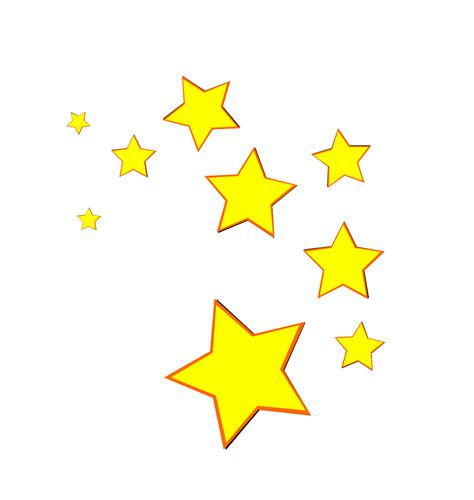 Shooting Stars Clip Art Cliparts