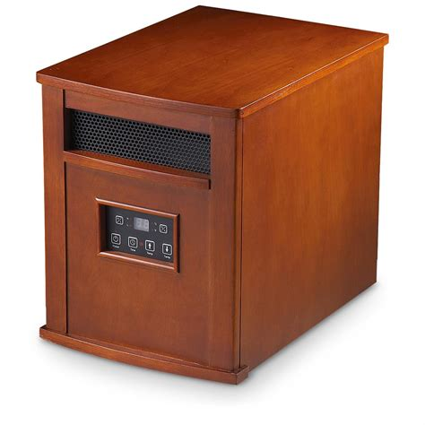 infrared room heaters guide gear 174 1500w infrared space heater 209371 fireplaces at sportsman s guide